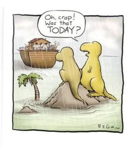 Dinosaurs Procrastinating
